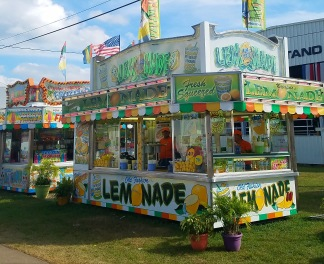 Fair week! Best lemonade out there.